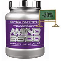 Complex de aminoacizi Scitec Nutrition Amino 5600 500 tablete