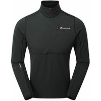Bluza Montane Power up pull-on-Charcoal-Large