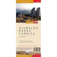 Harta Schubert &Franzke Giumalau Rarau Tarnita