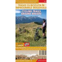 Harta Schubert &Franzke Trasee cu bicicleta in imprejurimile Brasovului