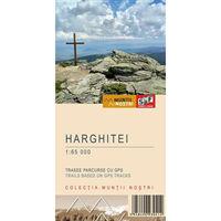 Harta Schubert &Franzke Muntii Harghitei