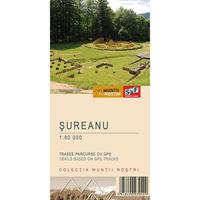 Harta Schubert &Franzke Muntii Sureanu