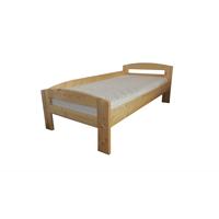 Pat dormitor Serena, lemn brad, 1 persoana ,100x200 cm cu protectie la perete