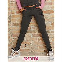 Frenetic Pantaloni gri, bumbac, HERMIONE-03